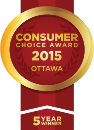 Consumer Choice Award 2015 - 5 Year Winner